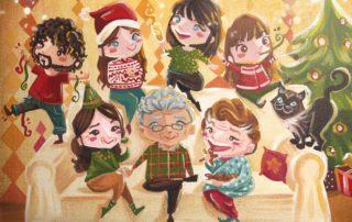 Natale riunione di famiglia