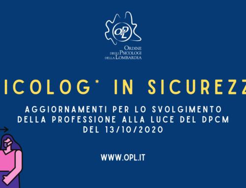 Studi professionali privati e DPCM del 13 ottobre 2020